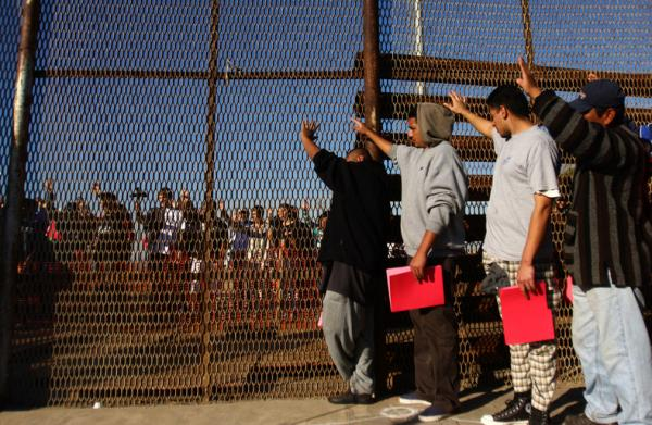 "Obama's Wall ""President Barack Obama has already earned the damning nickname ""Deporter in Chief"" for kicking out of the country more than 2.5 million undocumented people during his two terms in office. Fear of deportation has sharply escalated since Trump's election"". http://www.telesurtv.net/english/multimedia/The-Global-Rise-of-Xenophobia-20161216-0023.html"