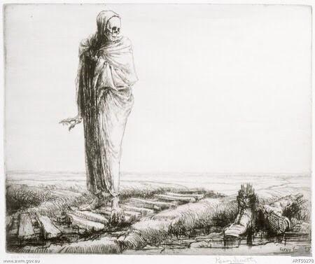 Death awed - Percy Delf Smith
