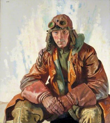 Flight Sergeant WG Bennett by William Orpen
