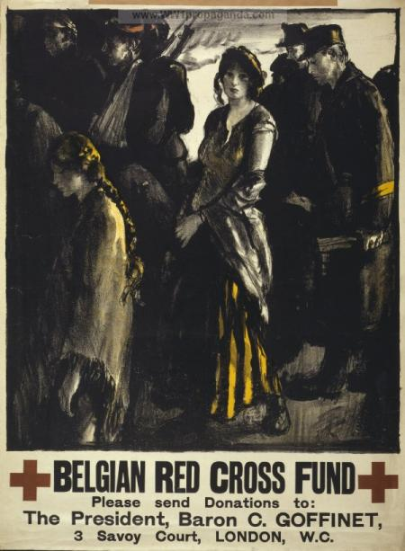 The forerunners of humanitarian militarism: appeal for the Belgian Red Cross
